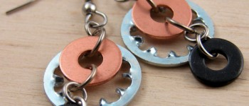 hardware earings on etsy