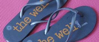 The Well Daily Free Flip Flops